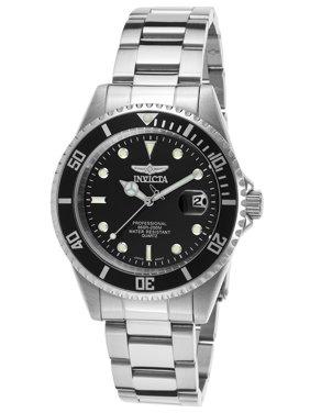 Invicta Men's Pro Diver Analog Display Quartz Silver Watch 8932OB