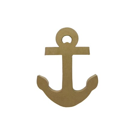 Paper Mache Anchor for DIY Anchor Decor: 13 inches Paper Mache Decorations