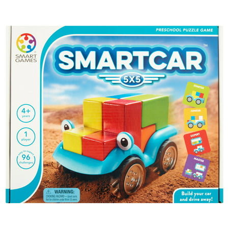 SmartCar Smart Games 5x5 Preschool Puzzle Game - High School Rally Games