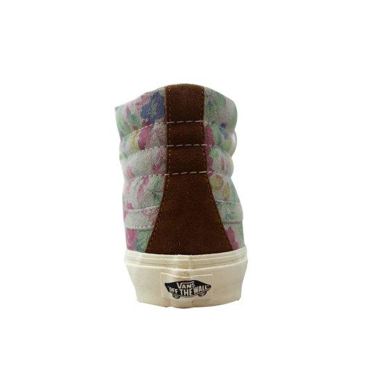 9068da060a Vans - Vans Sk8-Hi Slim Suede Floral Marshmallow Men s VN-0XH7EH5 ...