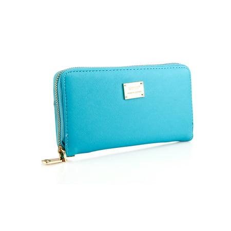 Fashion Lady Full Zipper Faux Leather Women Wallet Clutch Long Purse Card Holder Handbag Metro Womens Checkbook Clutch
