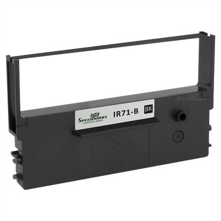 Speedy Inks Compatible Printer Ribbon Cartridge Replacement for Citizen IR71-B (Black) (Citizen Ribbon Printer Ink)