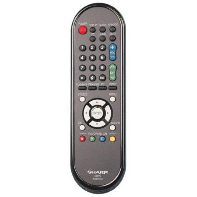 OEM Sharp Remote Control: LCC52700UN, LCC5277UN, LCC6077U...