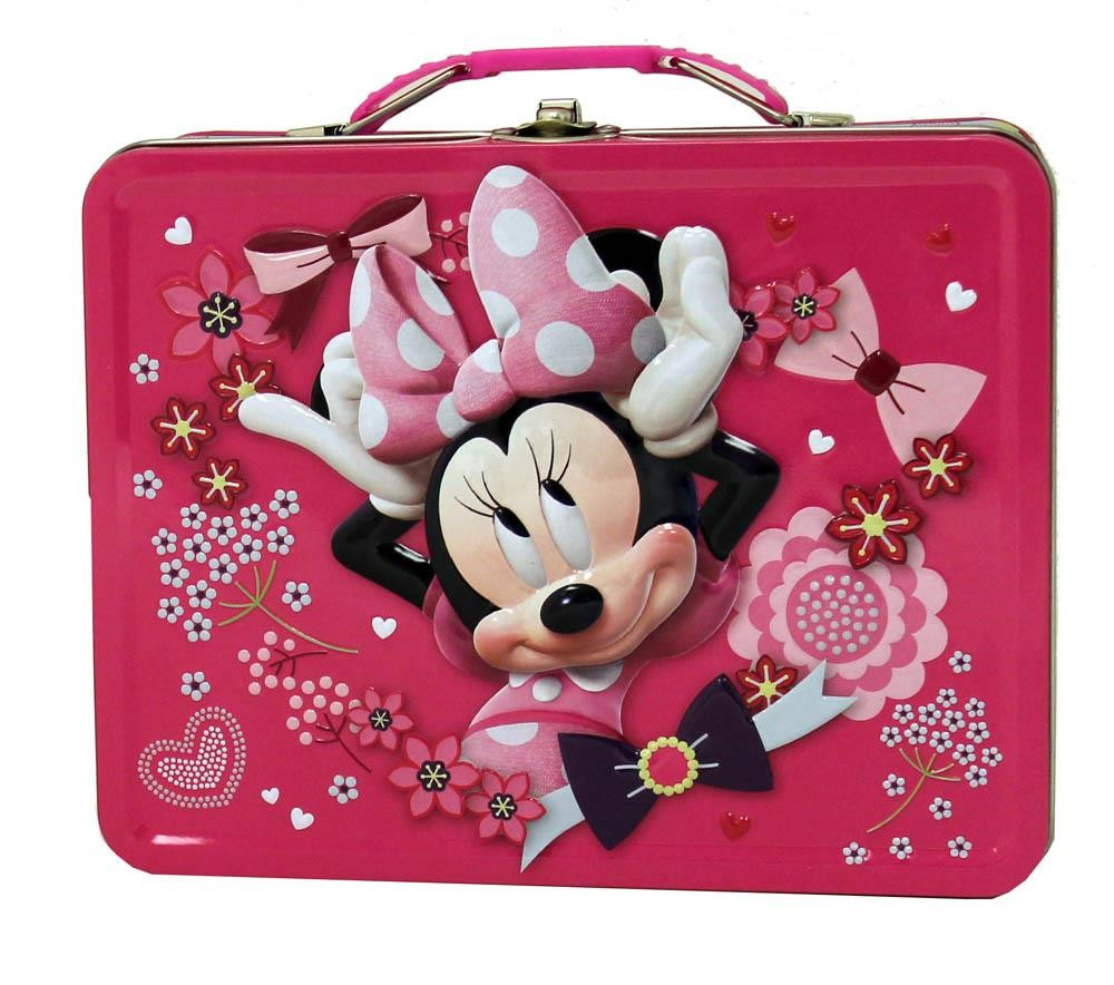 MINNIE MOUSE HOT PINK TIN LUNCH BOX  sc 1 st  Walmart & MINNIE MOUSE HOT PINK TIN LUNCH BOX - Walmart.com Aboutintivar.Com