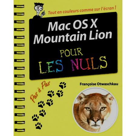 Mac OS X Mountain Lion Pas à Pas pour les Nuls -