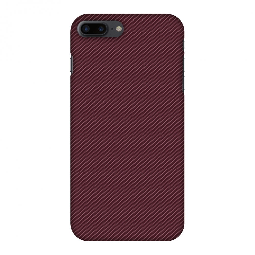 iPhone 7 Plus Case - Tawny Port Texture, Hard Plastic Back Cover. Slim Profile Cute Printed Designer Snap on Case with Screen Cleaning Kit