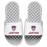 Washington Justice ISlide Youth Overwatch League Team Logo Slides - White