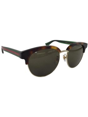9ae3cb6366c Product Image Gucci GG 0058SK 003 Brown Green Avana Red Plastic Sunglasses  55mm