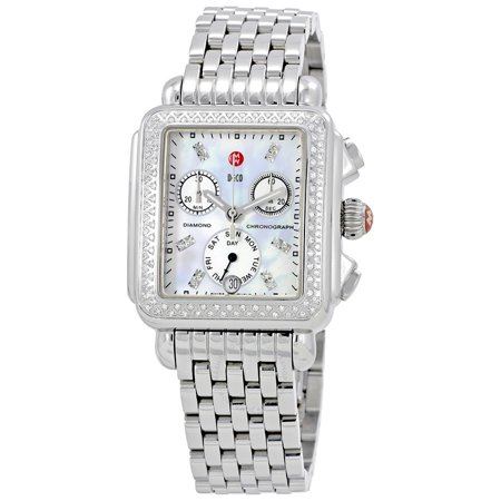 Michele Wheeze Diamond Watch