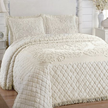 Chenille Bedspreads At Walmart.Lamont Home Josephine Collection 100 Cotton Chenille Bedspread