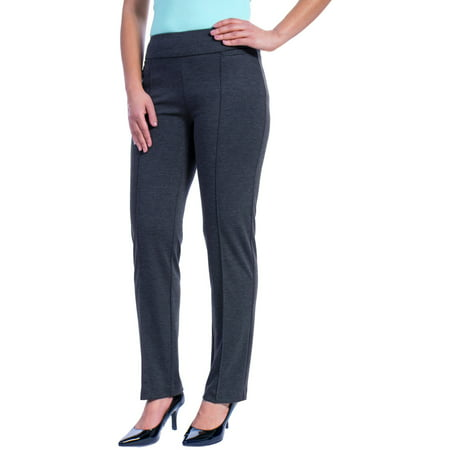 070cf4fdf72 George - Women s Ponte Suiting Pants - Walmart.com