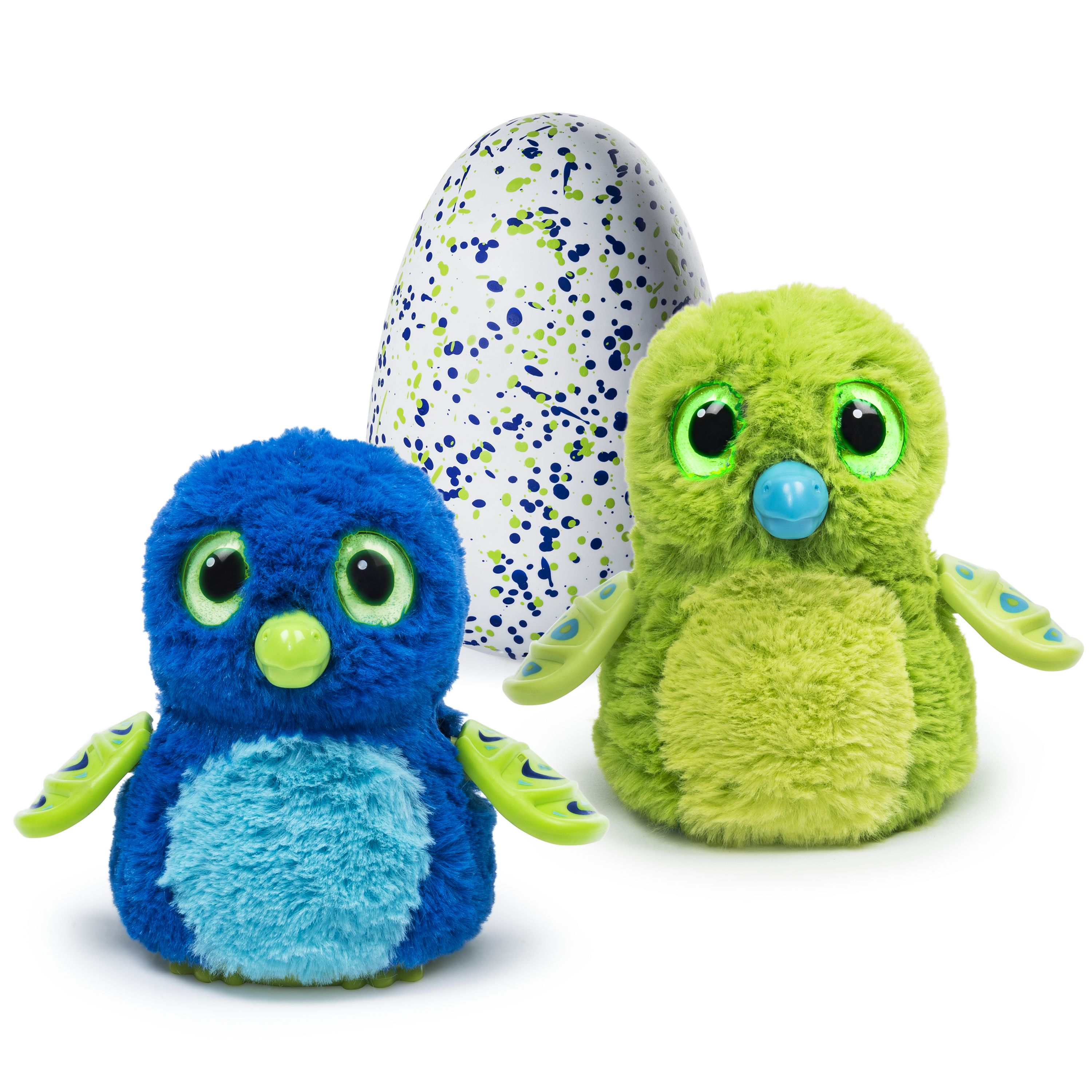 Hatchimals, Hatching Egg, Interactive Creature, Draggle, Blue/Green Egg by Spin Master