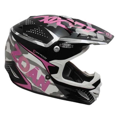 ZOAN 021-577 MX-1 O/f Helmet - Sniper, Pink Magenta - xl