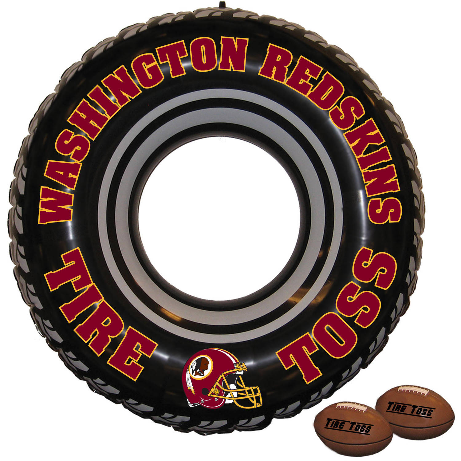 NFL Washington Redskins Tire Toss
