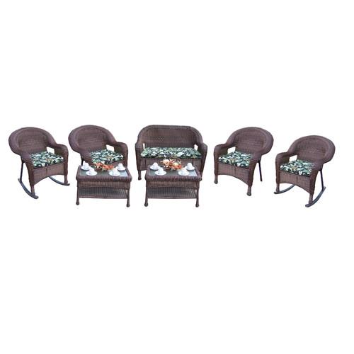 Oakland Living 7 Piece Sunbrella Sofa Set with Cushions by Oakland Living Corporation