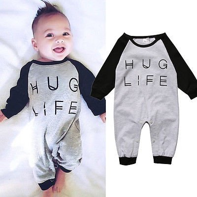 Newborn Toddler Baby Boys/Girls Cute Soft Cotton Romper Outfits Clothes - image 1 de 1