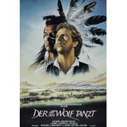 Dances With Wolves (1990) 11x17 Movie Poster (German)