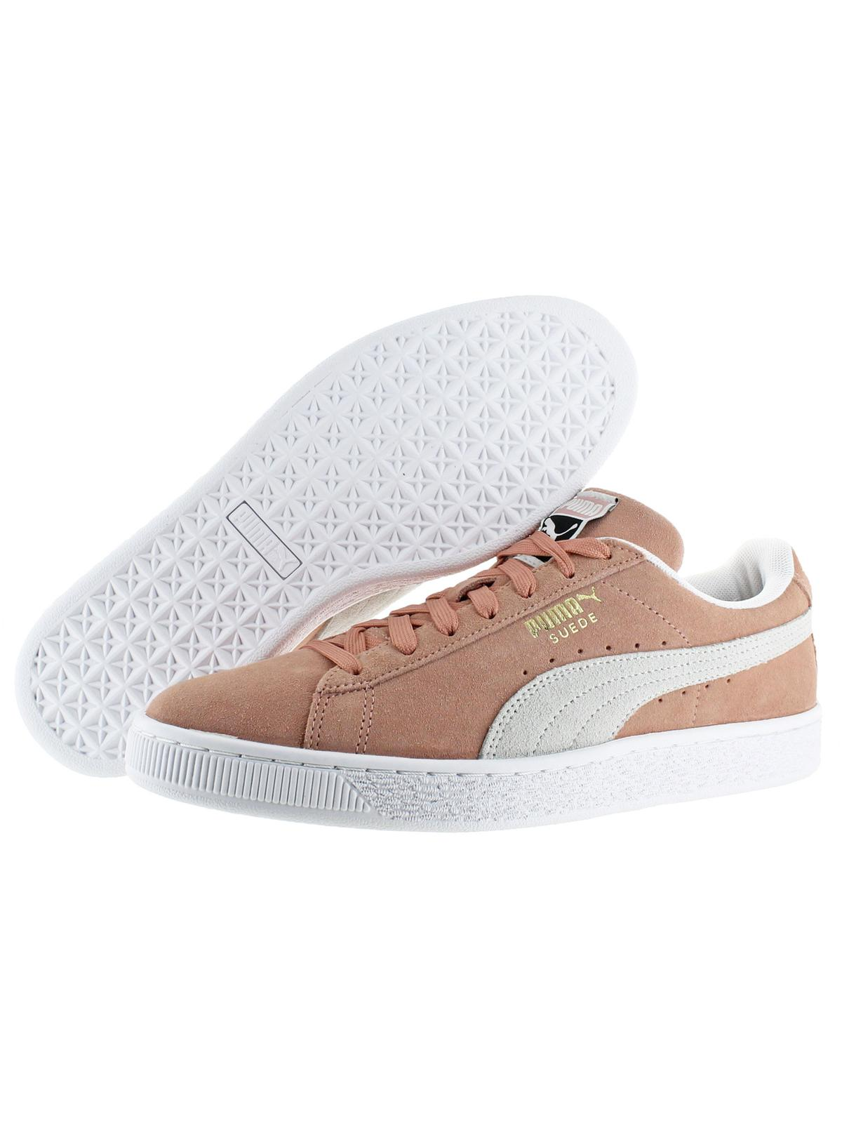 Puma Mens Suede Classic Round Toe Casual Fashion Sneakers