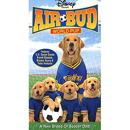 Disney Halloween Treat Vhs (Disney Presents Air Bud 3: World Pup [Movie] VHS Tape 2000 Very Good!)