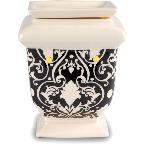 Better Homes and Gardens Warmer, Black And White Damask