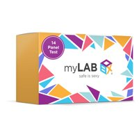 MyLab Box Total Box - 14 Panel At Home STD Test + Mail-in Kit with HPV for WOMEN ages 30 + older