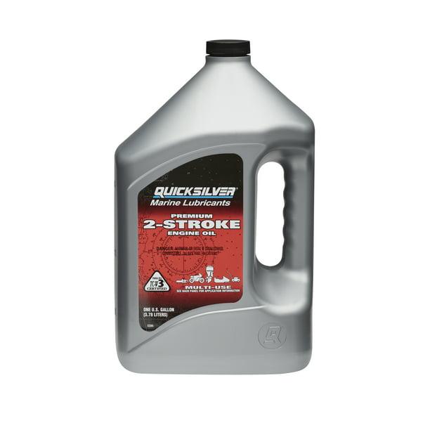 Quicksilver Premium 2-Stroke Engine Oil – 1 Gallon – 858022Q01