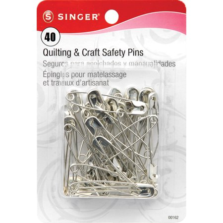 Singer Size 3 Safety Pins, 40 Count