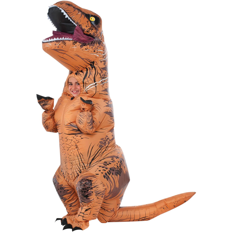 rubieu0027s jurassic world rex inflatable child costume 2 pc bag walmartcom