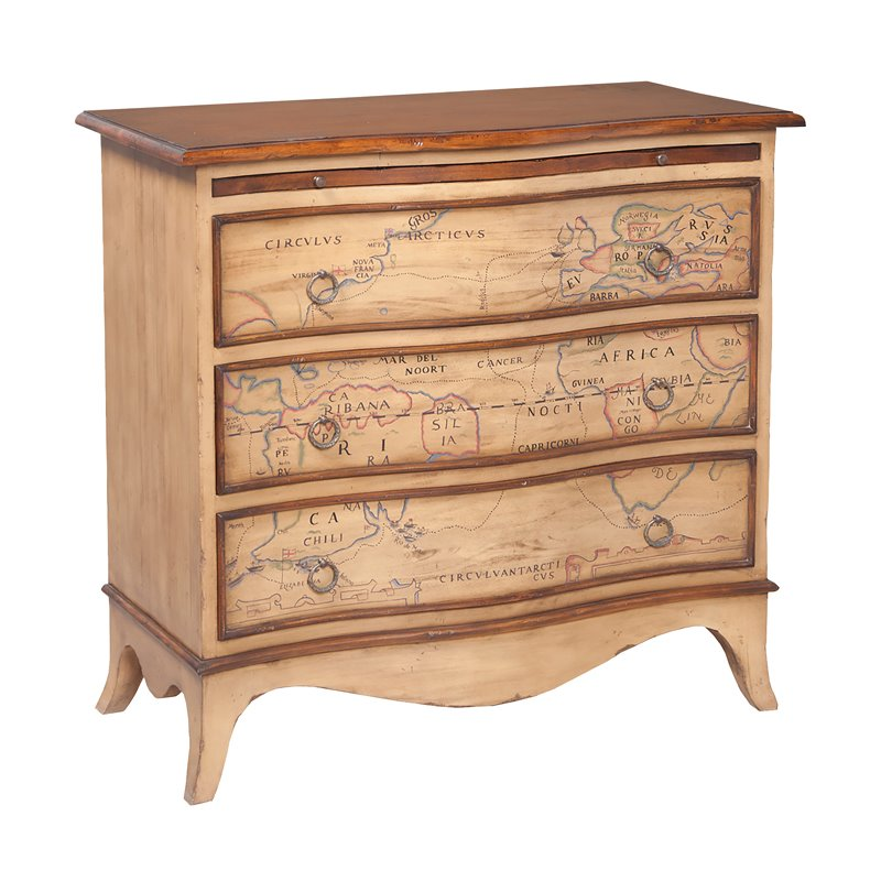 GuildMaster Heritage Accent Chest in Blonde
