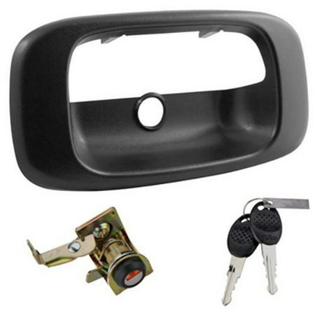 Lock Tailgate Super Duty Integrated Truck Tailgate Lock For Chevy Gmc Ford Dodge ()