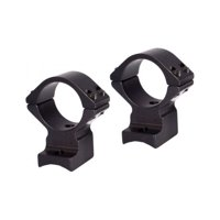 Talley 30mm Mounting Rings for Fierce Firearms, Black Anodize, Medium,
