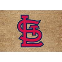 Memory Company St Louis Cardinals Color Exterior Doormat