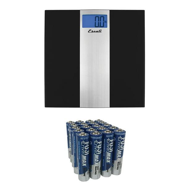 Escali Us180b Ultra Slim Bathroom Scale