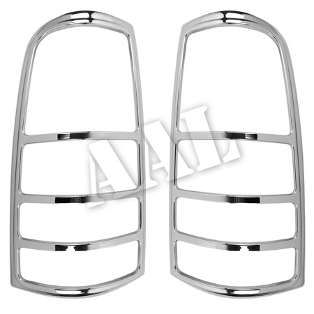 AAL Premium Chrome LIGHTS BEZEL Cover For 1999-2002 CHEVY