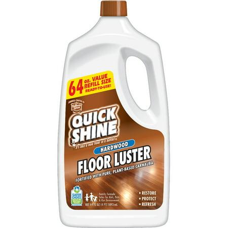 Quick Shine High Traffic Hardwood Floor Luster; 64 oz. Teak Hardwood Floor