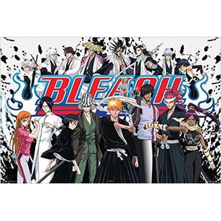 Kubo Bleach Cast 36x24 Anime Cartoon TV Art Print Poster Japanese Animation Cartoon Networks Adult Swim ???? - Japan Mini Poster