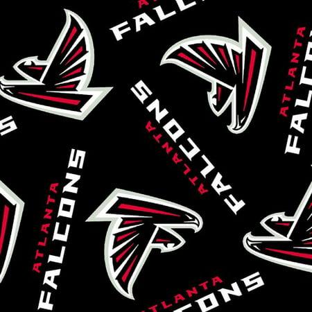 Walmart Credit Card Review >> NFL Atlanta Falcons Fleece Fabric - Walmart.com