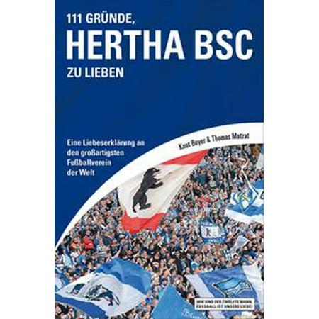 111 Gründe, Hertha BSC zu lieben - eBook