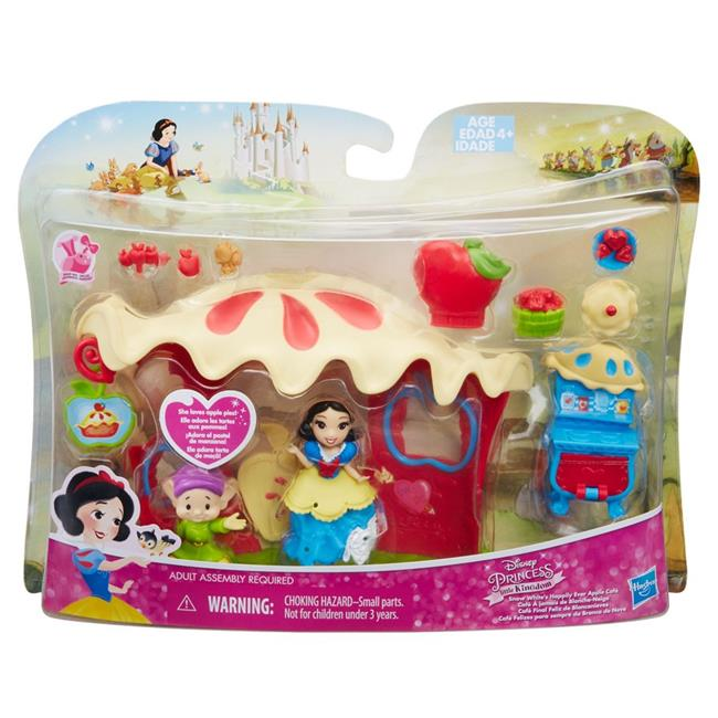 Hasbro HSBB7165 Disney Princess Small Doll Playset Snow White Palace Playset Set of 4 by Hasbro