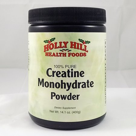Foods Creatine Powder - Holly Hill Health Foods, 100% Pure Creatine Monohydrate Powder, 14.2 Ounces