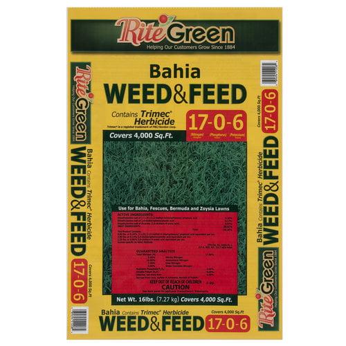 Rite Green Bahia Weed and Feed