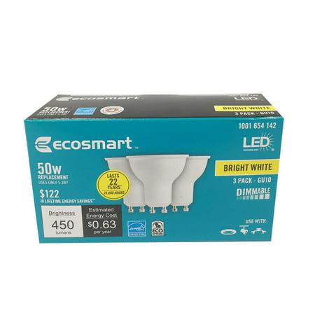 50W Equivalent Bright White MR16 GU10 LED Light Bulb - Gu10 Shower Light