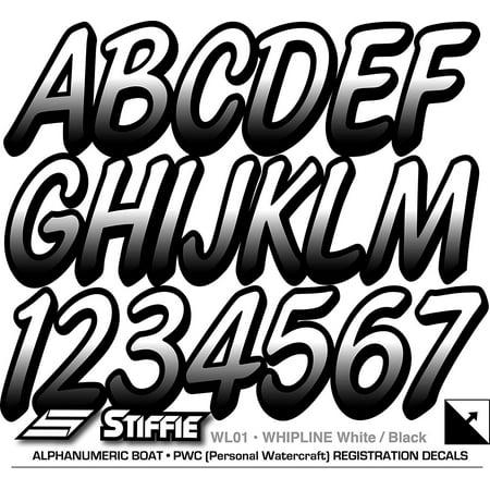 STIFFIE Whipline White / Black 3