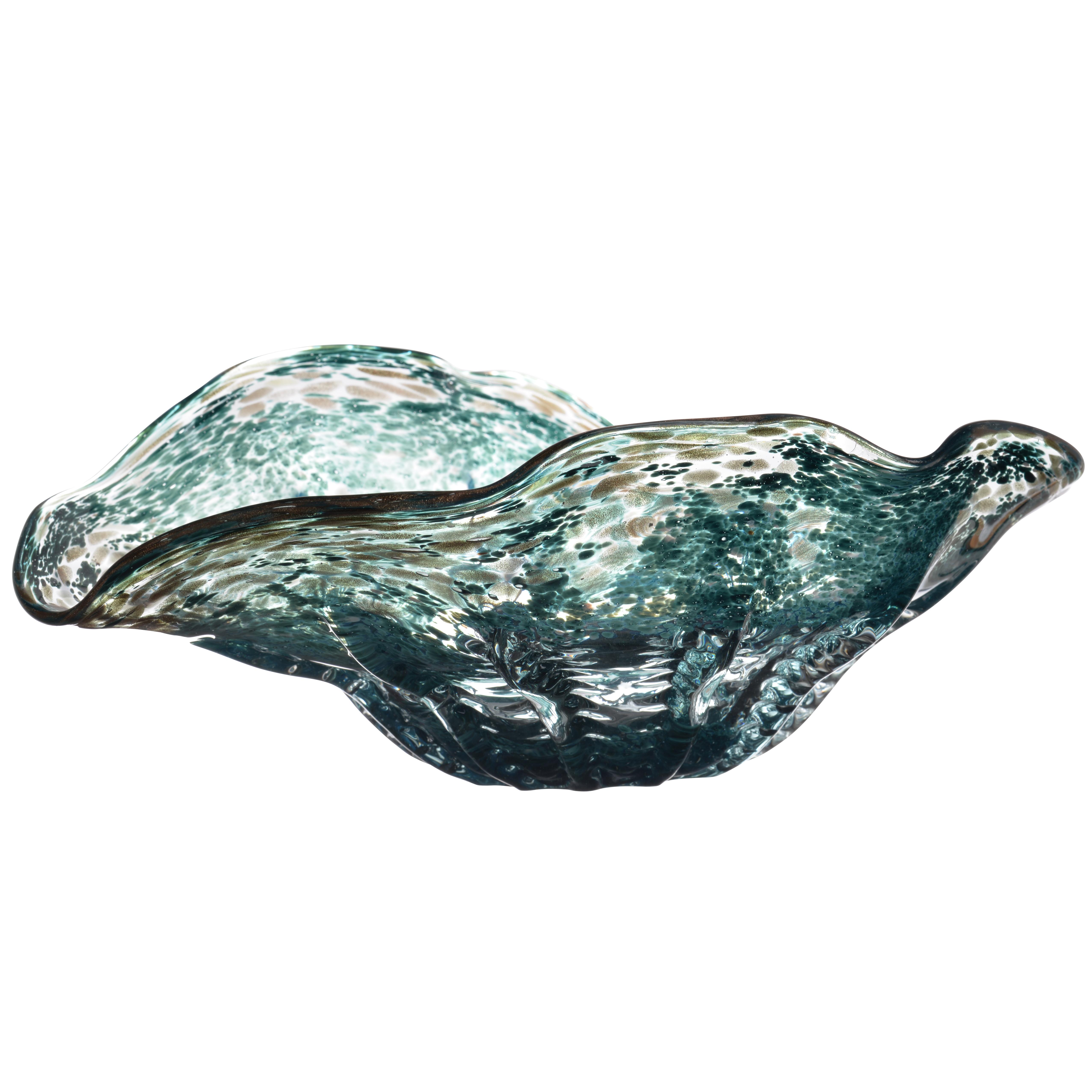 A&B Home Surge Decorative Bowl, 15 x 11 x 5-Inch