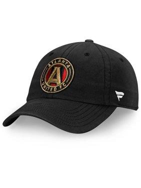 Atlanta United FC Fanatics Branded Fundamental Adjustable Hat - Black - OSFA
