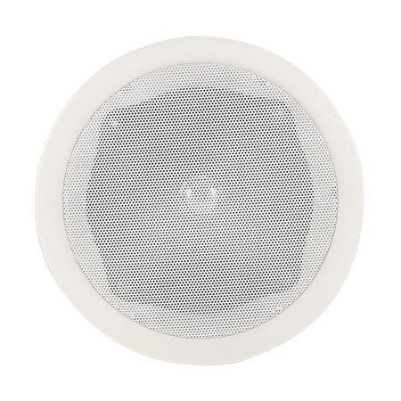 Indoor Round Shaped Wall Ceiling Mounted Surround Sound Audio Speaker 17 5cm
