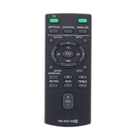 Replacement Sound Bar Remote Control for Sony HTCT60C - image 2 of 2