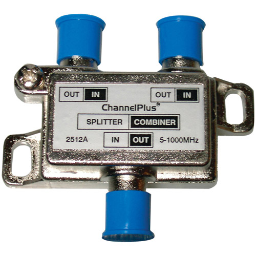 Channel Plus 2512 DC/IR Passing Splitter/Combiner, 2-Way