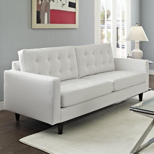 Modway Empress Leather Sofa