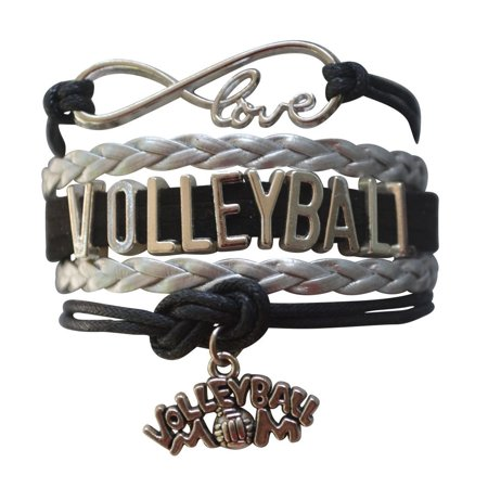 Volleyball Mom Infinity Bracelet -](Volleyball Charm Bracelet)